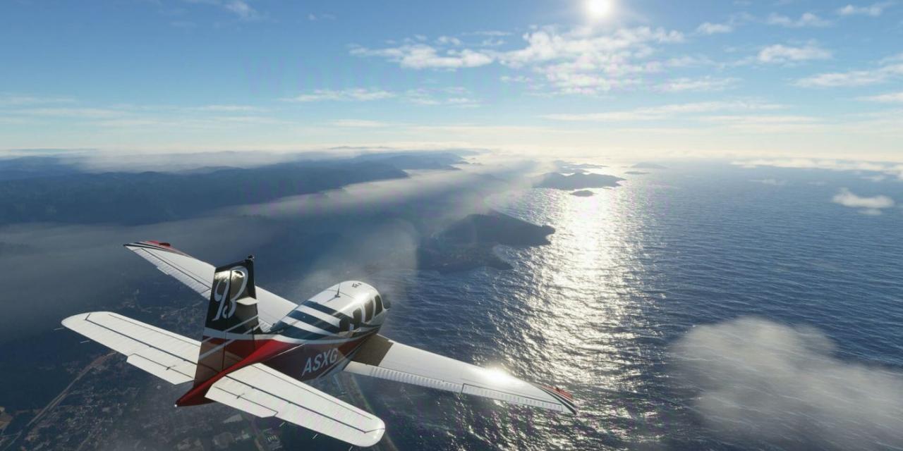 Microsoft Flight Simulator's Next World Update Improves France & Benelux